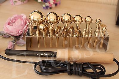 19 High Quality Professional Millinery Flower Making Tools Brass  Soldering Iron