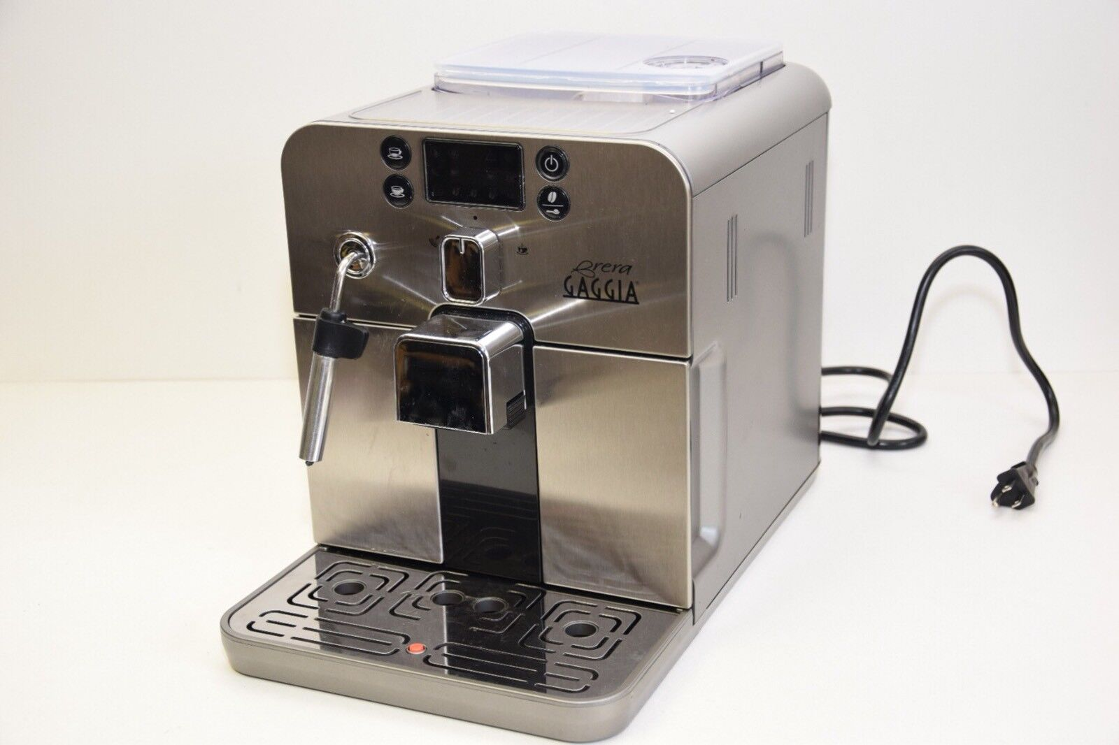 Gaggia Brera Silver Automatic Espresso / Coffee / Cappuccino