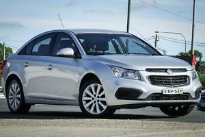 2016 Holden Cruze JH Series II MY16 Equipe Silver 6 Speed Sports Automatic Sedan Greenacre Bankstown Area Preview