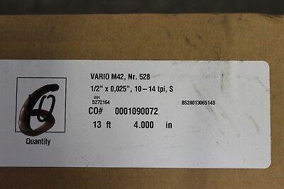 Wikus Vario M42 Nr. 528 13 4 12 X 0025 10-14tpi S Bandsaw Blade