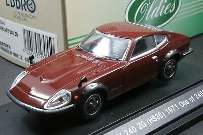 Ebbro 43055 1:43 scale Nissan Datsun Fairlady 240 ZG HS30 Die Cast Model Car