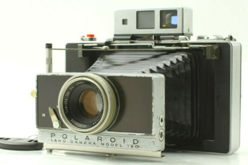 【Excellent++++】 Polaroid Model 180 Land Camera w/ TOMINON 114mm f/4.5 from JAPAN