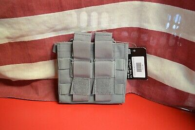 Grey Ghost Gear Double Mag Pouch -Wolf Grey