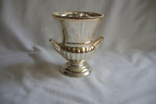 Silver Plated Urn Style Rose Bowl / Bud Vase