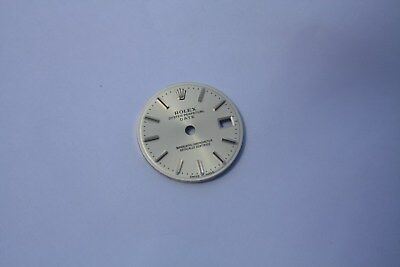 Rolex Factory Original White DATE Model dial. For Lady's 26mm.  Brand New!