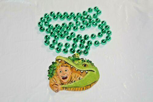 Steve Irwin Mardi Gras Beads The Crocodile Hunter New Orleans