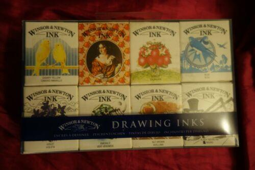 Winsor & Newton 8 Drawing Inks