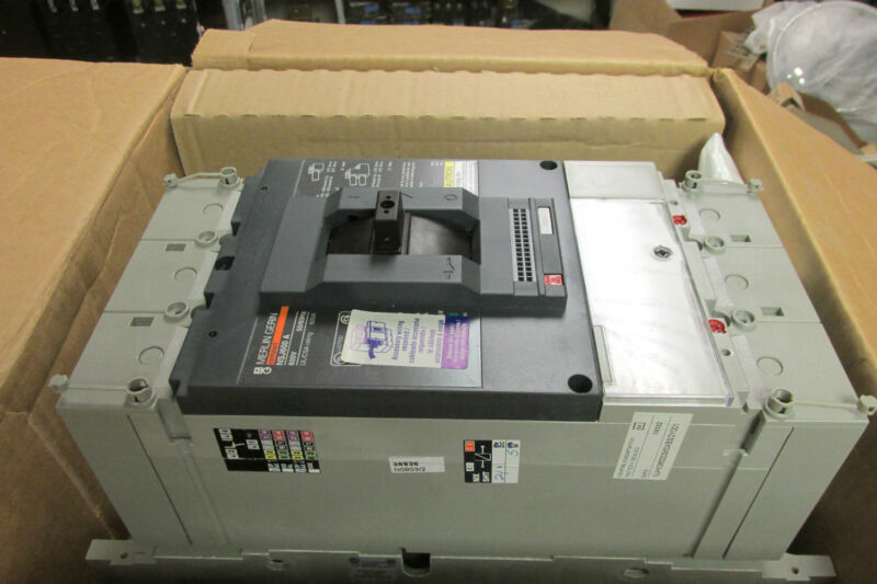 *NIB Merlin Gerin Compact Molded Case Breaker Cat# NJHN36000S60ABSOY001 .. VQ-02