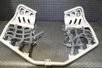 "Yamaha 700 Raptor PRO ARMOR Nerf Bars 700R FOOT RESTS 2006-2020  ""A_B"""