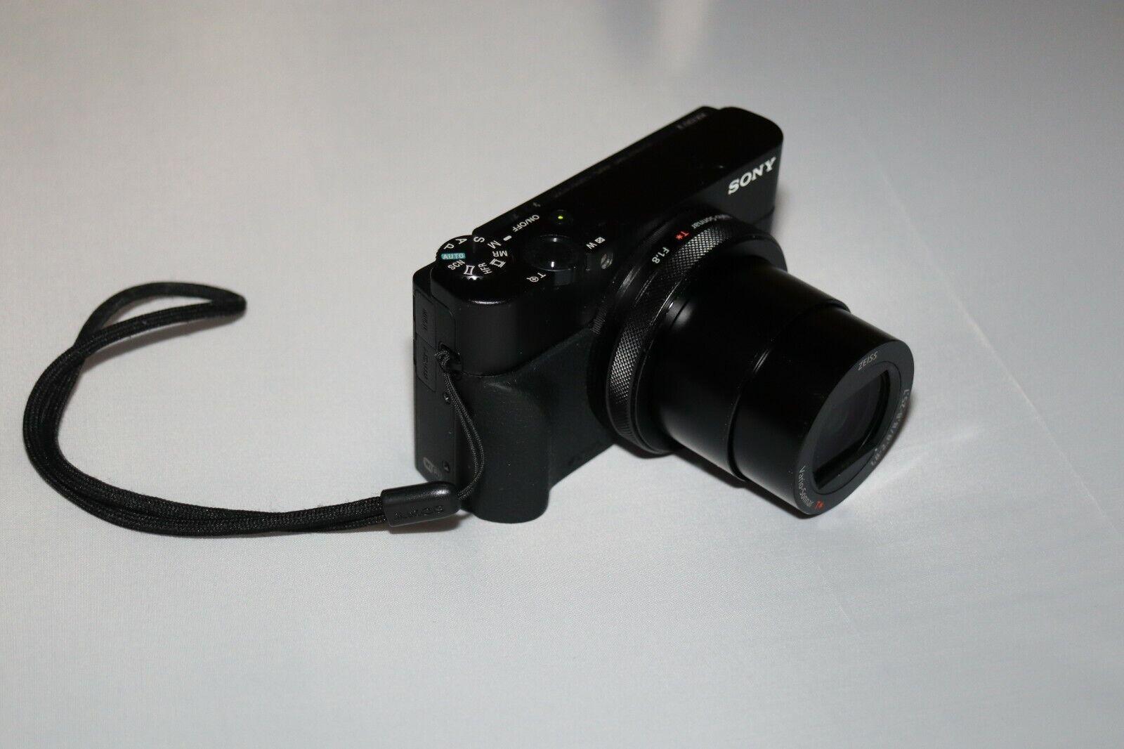 Sony Cyber-shot RX100 V 20.1MP Digital Camera - Black Kit W/ 24-70mm Lens  - $500.00
