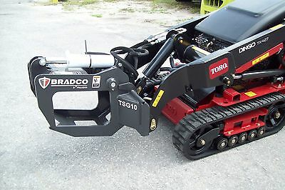 Ditch Witch Mini Loader Tree-shrub Grapple By Bradcofits Most Mini Loaders New