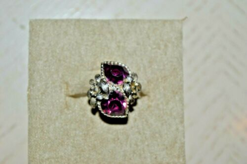 Vintage Sarah Coventry Amethyst Ring
