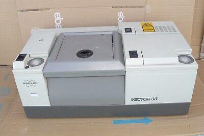 Bruker Vector 33 Ftir Spectrometer I18500 Ps15 Power Supply 115230 V