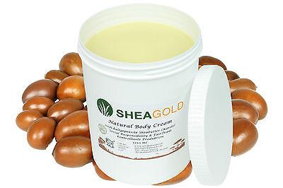 Kalt Gepresste Shea Butter (1250ml pure kaltgepresste Sheabutter, wild&organic, unraffiniert PremiumQualität)