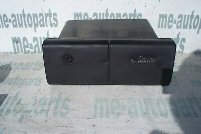 1987-1993 CADILLAC ALLANTE GLOVE COMPARTMENT BOX  BLACK