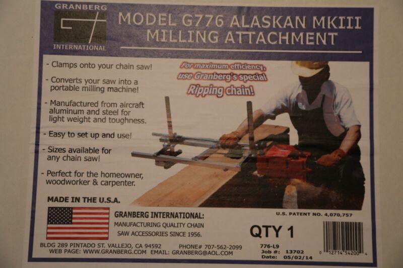 Granberg Alaskan Saw mill Mark lV 36 inch