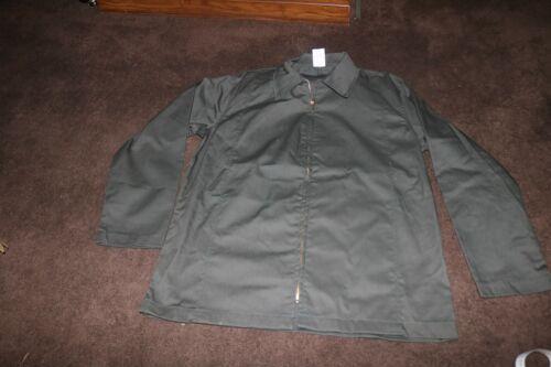 NOS Lion brand Cal Forest service uniform jacket green 1970s talon zip sz 46 L