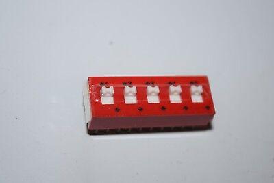 Grayhill 78j05s 20-pin Dip Spdt 0.15a 30vdc Dip Switch New Quantity-3