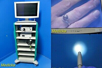 2015 Olive Medical Endoscopy Tower W Tck1 Camera Led-3000 Ovb1 Cart 20818
