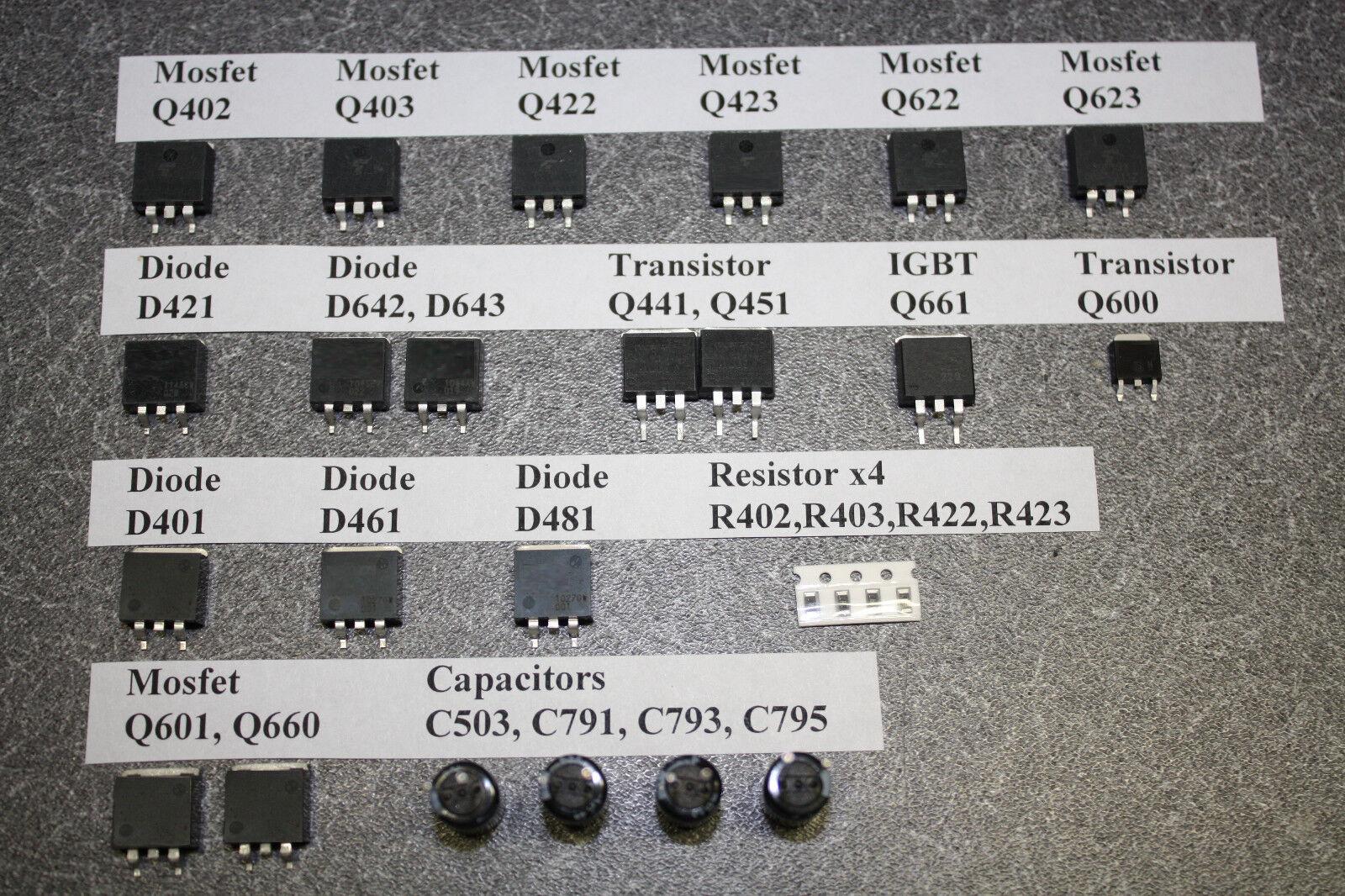 Panasonic Txnsc1pauu Tnpa5351 Sc Board Component Repair P...