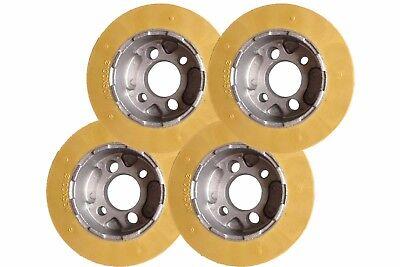 Ro10 Rubber Power Feeder Wheels Set Of 4 - 100 X 50mm