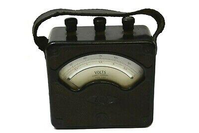 Vintage Westinghouse Px-4 Direct Current Volt Meter Style 936390 Voltmeter 0-150