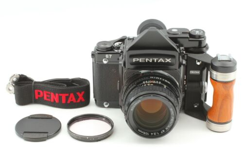 [ALL Late Mode MINT w/Grid Screen] Pentax 67 TTL MUP + SMC P 105mm F/2.4 JAPAN