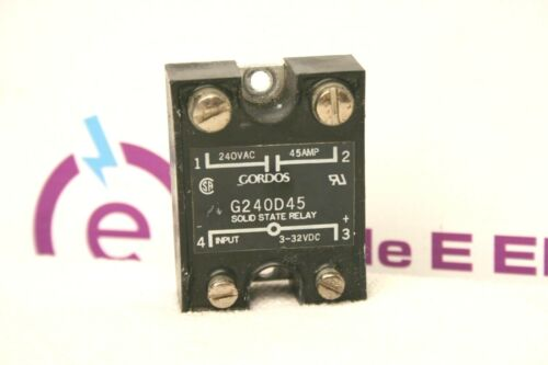Gordos G240D45 Solid State Relay  **XLNT**