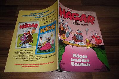 HÄGAR der SCHRECKLICHE # 3 -- HÄGAR + der BASILISK // Dik Browne 1. Auflage 1977