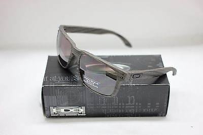 NEW OAKLEY POLARIZED HOLBROOK SUNGLASSES | WOODGRAIN / PRIZM DAILY | 9102-B7, used for sale  Shipping to India
