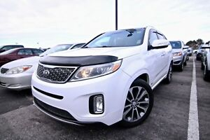 2015 KIA SORENTO SX AWD, Navi, Leather, Pano sunroof, Heated & V