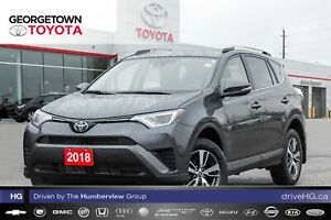 2018 Toyota RAV4 LE|BACKUP CAM|HEATED SEATS|ROOF RACK|SPOILER