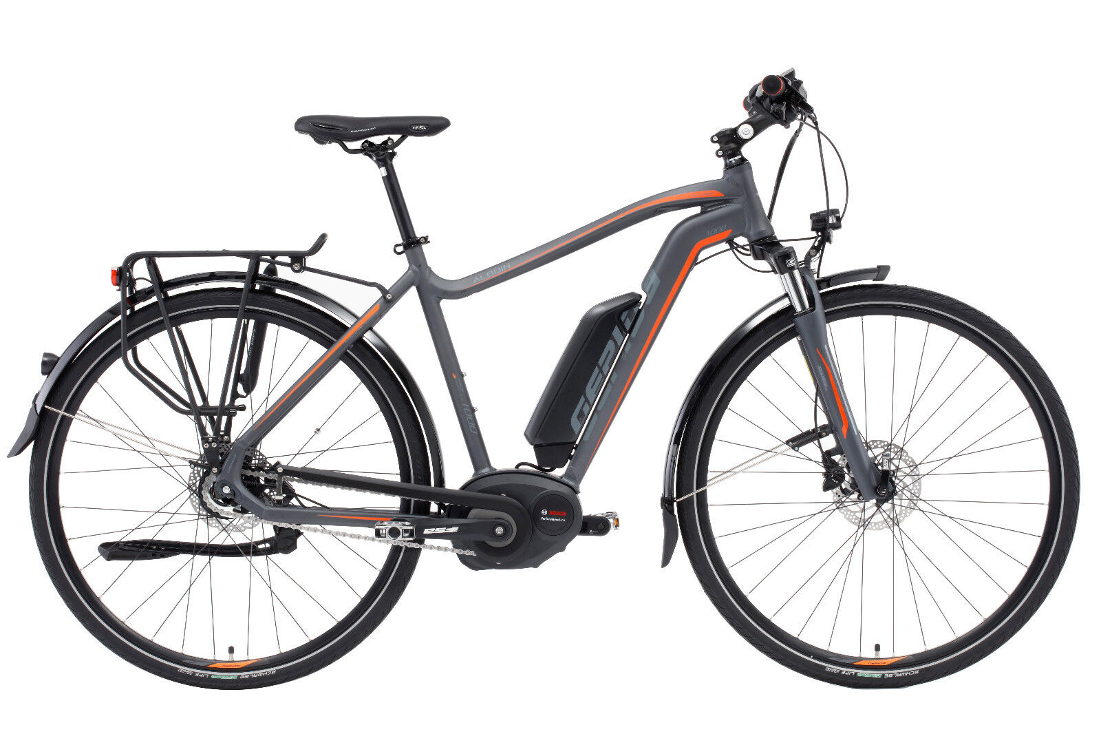BOSCH Performance Premium Commuter Electric Bicycle eBike Mid Drive ALBOIN 1000 (New - 2688 USD)