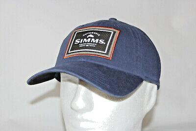 5ae968587f91b Simms Fly Fishing Single Haul Adjustable Snapback Cap Hat in Admiral Blue  OSFM