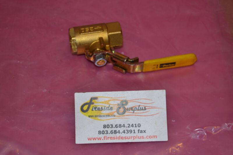 """PARKER BALL VALVE 1/2"""" 1/2 """" Bronze Brass NEW"""