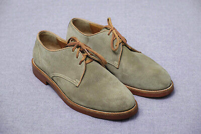To Boot New York Adam Derrick Grey Suede Shoes Derby Size US 10M Italy