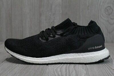 49 Adidas DA9164 Mens 9.5 - 12 Ultra BOOST uncaged running shoes black grey USA