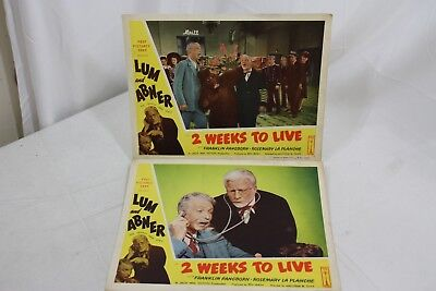 2 Weeks to Live 1950 Movie Lobby Card Lum and Abner