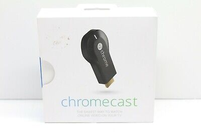 Google Chromecast 1st Gen HDMI Media Streaming Device - H2G2-42