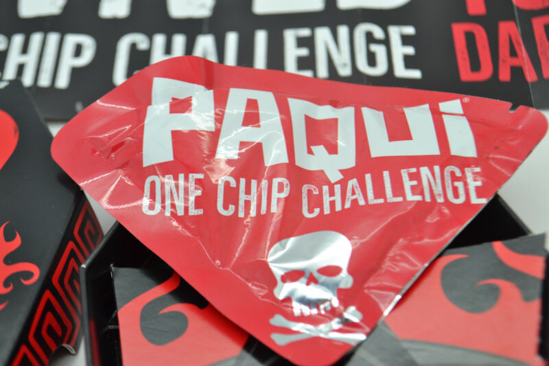 4 Paqui Carolina Reaper One Chip Challenge - SOLD OUT