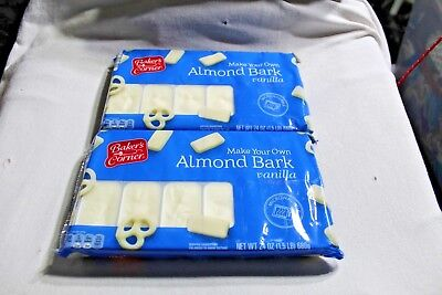 - 2 Bakers Corner Almond Bark Vanilla Flavored Coating 24 oz Packages
