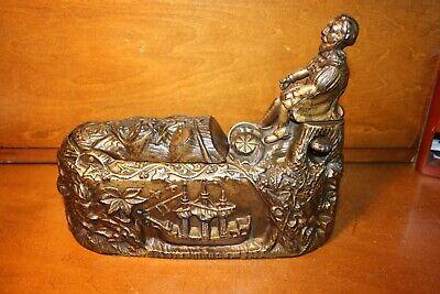 Original Cast Iron Mechanical Bank WORLDS FAIR by J and E Stevens Cir.1893