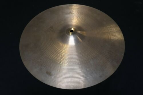 "Zildjian 16"" Thin Crash Cymbal 992g Vintage 1970"