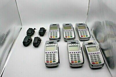Lot Of 6 Verifone Vx 520 Credit Card Reader Receipt Printer