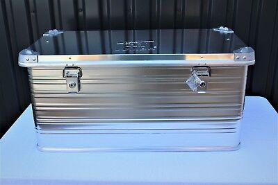 Transportkiste Transportbox Alukiste Aluminium Box Aufbewahrungskiste 91L Neu