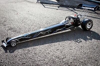 PRIMAL RC 1/5 Scale Ready To Run Dragster Rail Car Zenoah 29cc Gas Engine Drag for sale  Shipping to Canada