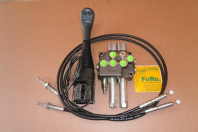 Hydraulische  Gerätebetätigung Steuerventil Frontlader Steuergerät EW DW 1500