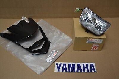 Yamaha Raptor 125 HEADLIGHT w/ BULB and GRILL GENUINE YAMAHA NOSE CONE LIGHT