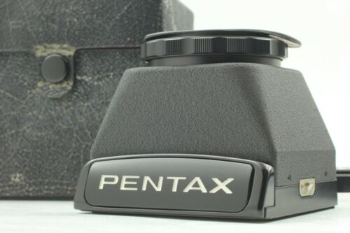 [MINT w/ CASE] PENTAX 67 Chimney Waist Level Finder Late for 6x7 II from JAPAN
