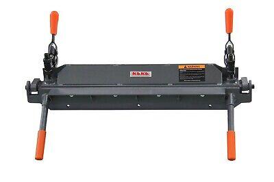 Kaka Industrial 24 18 Gauge Sheet Metal Bending Brake W1.2x610